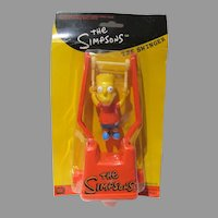 Old Store Stock, 1999 The Simpsons The Swinger Toy, Bart/Small Planet Toys