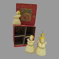 MIB Tavern Novelty Candles, Angels, 1940's