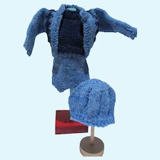 VIntage Mary Hoyer 4 Piece Knit Set, 1940's