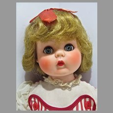 Charming 1950's Rubber Little Girl Doll
