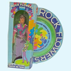 NRFB Rock Flowers, Doug Doll, Mattel, 1971