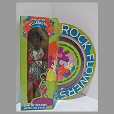 VIntage NRFB Mattel Rock Flower Rosemary Doll, 1971