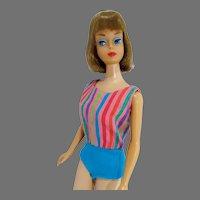 VIntage Mattel Long Hair American Girl Barbie, 1966