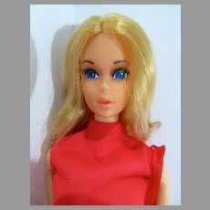 VIntage Mattel Walk Lively Barbie, 1971