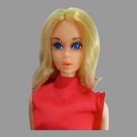 VIntage Mattel Walk Lively Barbie, 1971