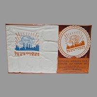 Rare NRFB 1964 NY World's Fair Napkin & Coaster Set