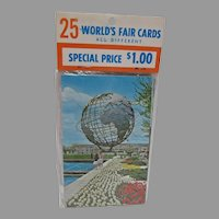 Sealed in the Original Packaging 1964 New York World's Fair Postcard