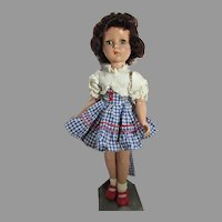 21 Inch R & B Nancy Lee Doll, 1950's