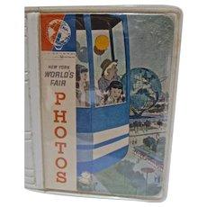 Mint Un-Used 1964-65 New York World's Fair Mini Photo Album