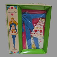 """NRFB World of Love Doll Outfit, """"Love Jumper"""", Hasbro, 1971"""