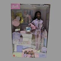 NRFB Mattel Happy Family Neighborhood, African American Baby Doctor