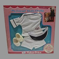 NRFB Fisher Price My Friend Mandy Outfit, #220, 1979