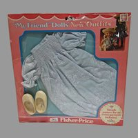 VIntage Fisher-Price My Friend Dolls Outfit, 1979