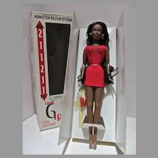 MIB Candi GIrls Fashion Couture Box Doll, African American, 1997