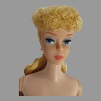 Beautiful Blond Ponytail Barbie #6, 1962, Mattel