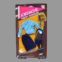 "MOC Mego Jordache Preppy Fashions for Jordache 11 1/2"" Fashion Doll, 1981"