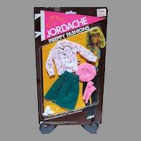 Vintage Mego Jordache Preppy Fashions, MOC, 1981