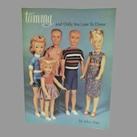 OOP Book, Tammy & Dolls You Love To Dress, John Axe, 1979