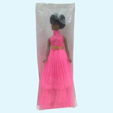 Sealed Topper Baggy Dale Doll is Neat Pleats Gown, 1970's