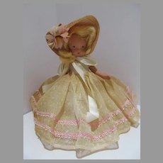 VIntage Bisque Nancy Ann Storybook Doll, 1940's