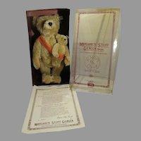 MIB Mama & Baby Steiff Bear 101st. Anniversary Ltd Ed. Set, 1981