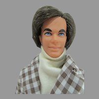 Vintage Mattel Mod Hair Ken in Original Outfit, 1973