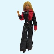 Vintage Mego Dinah Mite Action FIgure Doll, 1972