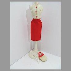 Vintage Mattel Barbie Outfit, Crisp 'n Cool, 1964