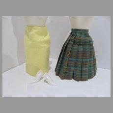 Rare Vintage Mattel Barbie Pak Skirt Styles, 1967, Complete