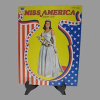 Vintage Un-Cut Miss America Paper Dolls, Whitman, 1979