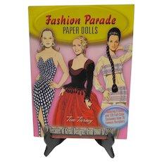 OOP Book Fashion Parade Paper Dolls, Tom Tierney