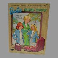 Vintage Barbie, Skipper & Skooter Paper Dolls, 1966, Whitman, Cut w/Folder