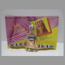 Rare MOC Judy Aerobic, Dawn Size Fashion Doll Clone, 1970's