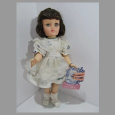 "Vintage Ideal Harriet Hubbard Ayer 14"" Doll from 1953"
