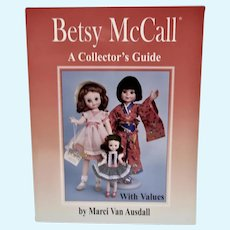 OOP Book, Betsy McCall A Collector's Guide, By Marci Van Ausdall, 1999
