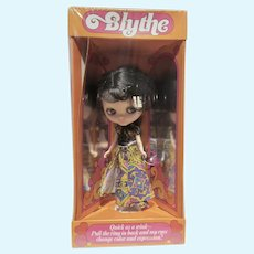 Never Removed From Box 1972 Bylthe Doll Rare Black Hair, by Kenner