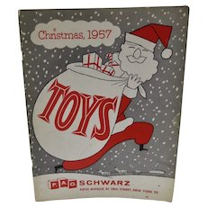1957 F.A.O. Schwarz Christmas Toy Catalog