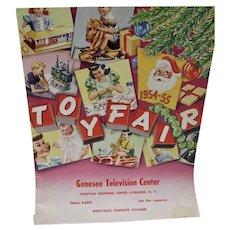 Vintage Toy Fair Store Catalog, 1954-55