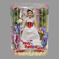 Mattel Barbie Disney Mary Poppins Doll, NRFB
