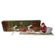 "MIB 1950's ""Santa Candy Flyer"" by Rosboro"