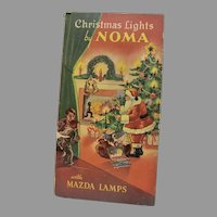MIB 1930's-1940's NOMA, Christmas Lights in Perfect Working Order!