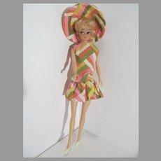 "Vintage 11 1/2"" Hong Kong Lilli Fashion Doll Clone, 1960's"
