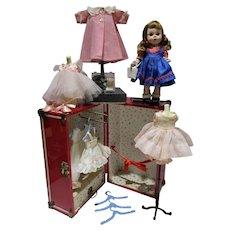 1950's Madame Alexander Wendy Trunk Set!