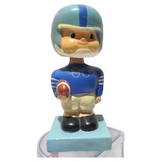 Vintage 1960's Bobble Head Football Nodder