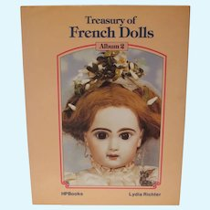 OOP Book A Treasury of French Dolls, Vol 2, Lydia Richter, 1983