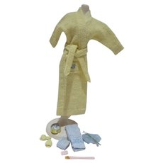 Vintage Mattel Barbie Outfit, Singing in the Shower, 1961, Complete