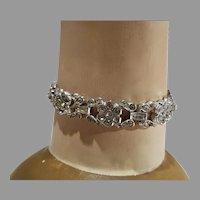 Lovely Vintage Trifari Bracelet, Pat. Pending, 1950's