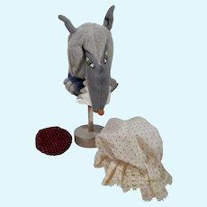 Vintage Ken Little Theater Costume, The Wolf, Mattel 1964