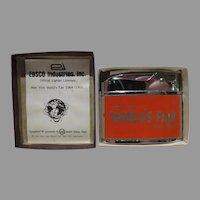 NY World's Fair 1964-65 Vulcan Lighter in Box, New Old Stock
