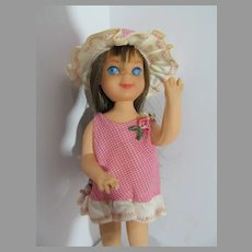 Mattel Vintage Tutti Doll, 1966 w/Original Outfit